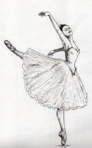 Bailarina em silêncio